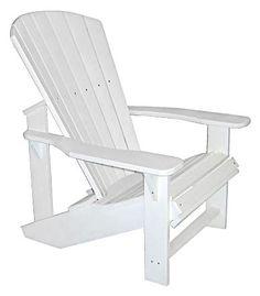 Adirondack Chair aus Kunststoff, 439€, Mengenrabatt ab 2, gartenshop-ahrensburg.de