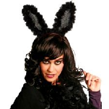Black Flashing Bunny Ears. Get noticed at a Music Festival this year with these Flashing Bunny Ears. http://www.novelties-direct.co.uk/Black-Flashing-Bunny-Ears.html