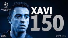 Enhorabuena al jugador del @FCBarcelona_es, primer futbolista en cumplir 150 partidos en la #UCL.