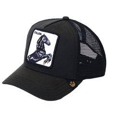 Gorra GOORIN BROS Stallion. New Goorin Bros Black Stallion Mens Trucker Hat d0b51c1296d