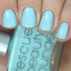 Rescue Beauty Lounge Electro Glacier | Fan 3.0 Collection | Peachy Polish