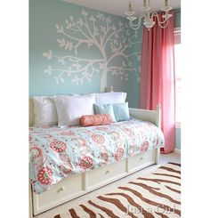 Bedroom design ideas - Home and Garden Design Idea's. if i have to do another room for danaka this is to cute