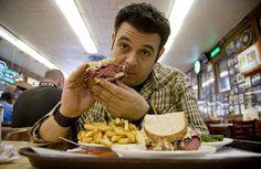 Adam Richman - Man vs Food - ShortList Magazine