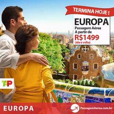 Último dia para aproveitar a promoção da #TAP. Bilhetes aéreos para a Europa com descontos incríveis em até 5x. Clique e garanta já sua viagem!  #ConheçaEuropa #VoeTAP #PromoTAP  Link com as melhores ofertas: http://www.passagemaerea.com.br/promocao-barcelona-2013.html