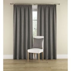 Harrison Ready Made Curtains Grey £112