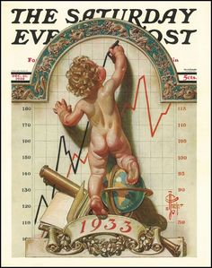 New Year's Baby, The Saturday Evening Post (December 31, 1932) by J.C. Leyendecker