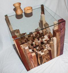 Bespoke Exotic Wood Coffee Table by MadeByWayne on Etsy, £5000.00
