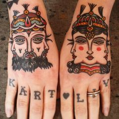#male and #female principen, #yinyang #handtattoo. #Eclectic #tattooing made @kosmostattoo