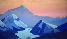 Николай Рерих. Галерея картин художника - Гималаи. Эверест