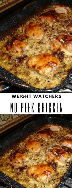 No Peek Chicken #No #Peek #Chicken #Weight_watchers #Weightwatchers