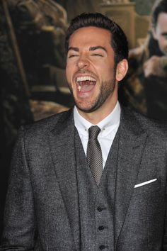 Harry Dresden (played by Zachary Levi) I can just see him laughing at Nicodemus in Skin Game.