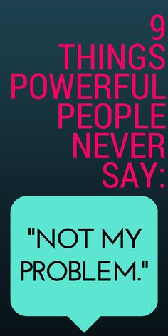 Become more powerful through your words & actions