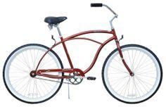 Men's Urban Man Classic Beach Cruiser Bike Color: Brown on Sale