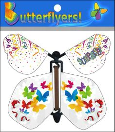Surprise wind up flying Butterflyer now available online!
