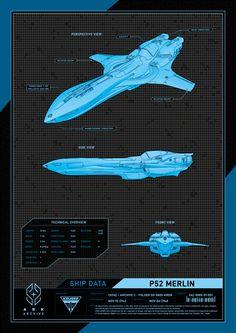 KRGR P52 Merlin   Star Citizen Poster   Poster Design by Christoph Rupsch Star Citizen, Kraken, Merlin, Far Cry Primal, Spaceship Concept, Concept Ships, Concept Art, Spaceship Design, Star Wars