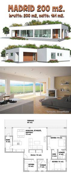 Madrid-családi-ház-építés-típusterv