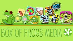 Box Of Frogs Media develop and build technology to deliver highly interactive digital stories through our appbook framework, but also we connect the world through our innovative ControlBook technology allowing families to read together from anywhere.