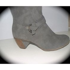 SIZE 7 Last pair BIG Calf boots grey - soft rubber low heel. in the Shoes category was sold for on 20 Nov at by Icontact in Cape Town Big Calves, R80, Calf Boots, Low Heels, Booty, Pairs, Stuff To Buy, Shoes, Fashion