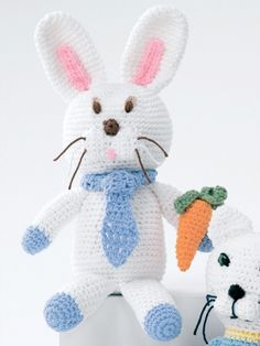 Baby's Bunny | Yarn | Free Knitting Patterns | Crochet Patterns | Yarnspirations