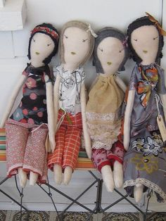 Jess Brown dolls.