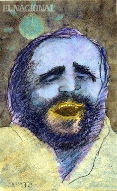 Caricatura de Zapata en la página de Opinión. Caracas, 08-09-2007. (PEDRO LEON ZAPATA / EL NACIONAL)