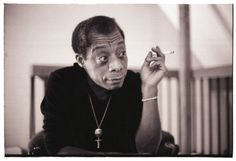James Baldwin in Paris, 1975. He was born on this day in 1924 in Harlem. Photo by Sophie Bassouls.