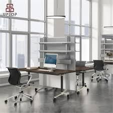 Foldable office table Modular Latest Foldable Office Table Design With Wheel spft427 Alexnldcom Latest Foldable Office Table Design With Wheel spft427 Buy