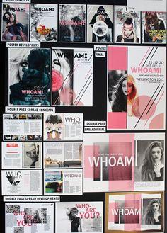 Top Art Exhibition - Design » NZQA Visual Communication Design, Graphic Design Projects, Design Ideas, Exhibition, Design Research, Portfolio Design, Portfolio Examples, Graphic Art, Pop Art