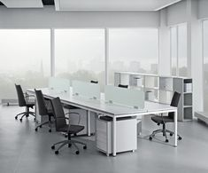 Nova desk | Urban Office bench desks