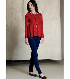 642e4e31c6066 Vogue Pattern V9207 Misses u0027 Back-Underlay Top-Size 4-6-