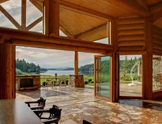 Masterpiece 9786 square foot home on the sunshine shores of Lake Coeur d Alene. Above is the link to the property that I found. What do you think?
