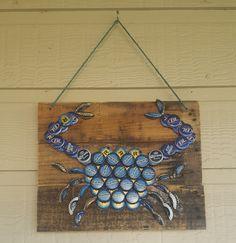 Bottle Cap Design- Maryland Blue Crab