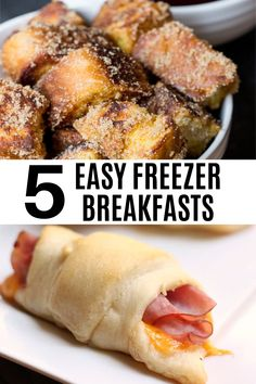 Need to up your breakfast game? Let us help you with these Make Ahead Freezer Breakfast Ideas! The Breakfast Club, Breakfast Ideas, Breakfast Recipes, Crockpot Meals, Freezer Meals, Sloopy Joes, Rowan, Brunch Recipes, Hot Dog Buns