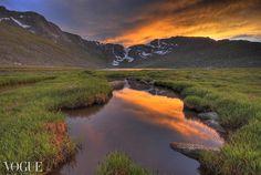 Colorado, Landscapes, Sunsets