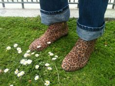 Boots Leopard by Russell & Bromley #russelandbromley