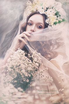 ☫ A Veiled Tale ☫ wedding, artistic and couture veil inspiration - Pansy & Perle