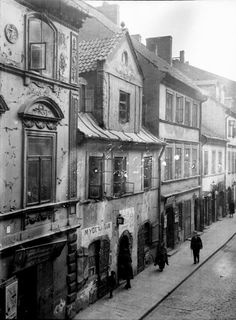 Warszawa, ul. Freta (1918)