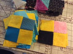 Clue five. This was quick. Now on to complete my blocks. Picnic Blanket, Outdoor Blanket, Illusions, Mystery, Quilts, Comforters, Patch Quilt, Kilts, Log Cabin Quilts