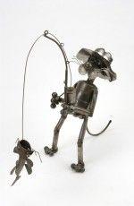 JunkYard Cats: Cat Fishing