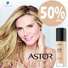 Por cambio de formato, llévate tu maquillaje #skinmatch de Astor, con un 50% de Descuento, hasta fin de existencias¡¡¡ En toda nuestra red comercial #becoaspeco