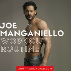 Joe Manganiello Workout Routine and Diet Plan [Updated] Fitness Diet, Mens Fitness, Muscle Fitness, Gain Muscle, Muscle Men, Build Muscle, Joe Manganiello Workout, Training Motivation, Fitness Motivation