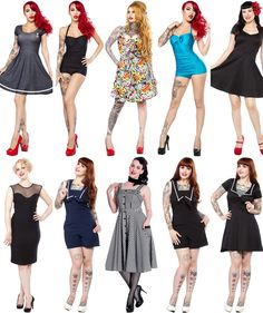 You Asked for It! More Plus Sizes Now Available!! / Sourpuss Clothing Blog - Sourpuss Clothing