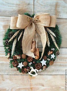 Christmas Makes, Christmas Mood, Christmas Wreaths, Christmas Crafts, Christmas Ornaments, Christmas Decorations Sewing, Looks Halloween, Christmas Wonderland, Handmade Christmas Gifts