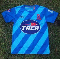 Alianza FC, Men\u0027s Retro Soccer Jersey, 1986, Taca, Chamagua #15 \