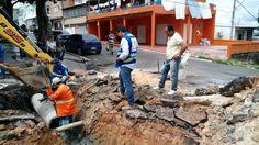 Drenagem no bairro Educandos passa por manutenção