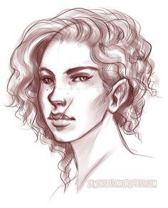 Favrielle by Illustrator Jessica Cox.  zeldyn.deviantart.com