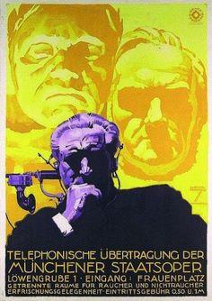 Vintage European Poster Designs