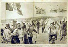 International troops, Canea. 1897.