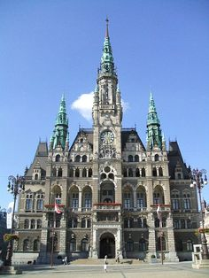 Liberec Town Hall, Czech Republic Prague Spring, Europe Photos, Medieval Town, By Train, Central Europe, Beautiful Places To Visit, Eastern Europe, Amazing Architecture, Czech Republic