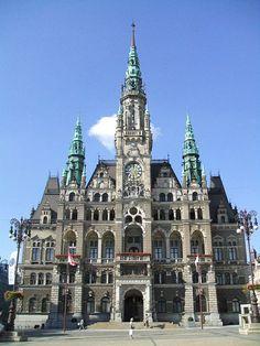 Liberec Town Hall, Czech Republic